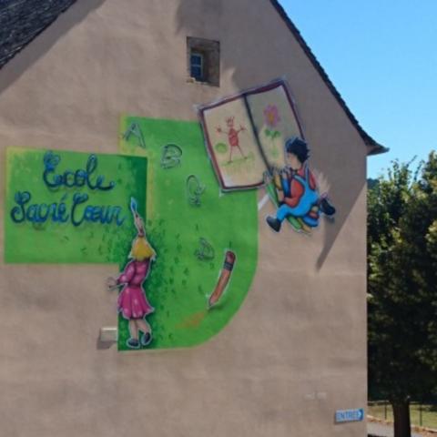 Ecole privé Sacré Coeur en Lozère à Badaroux