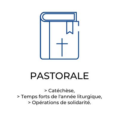 Présentation de la pastorale au collège saint privat à mende en lozere