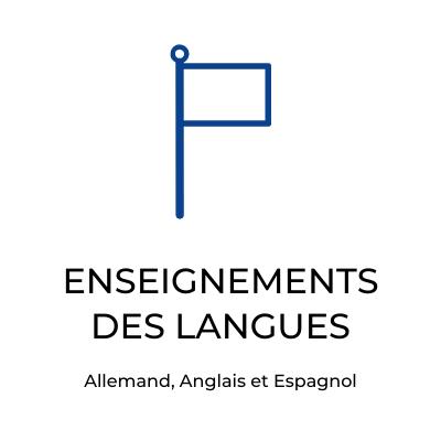 Collège saint privat mende, enseignements des langues
