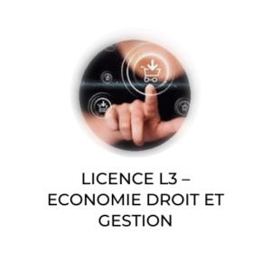 L3 économie droit et gestion lycée Notre Dame saint privat Mende