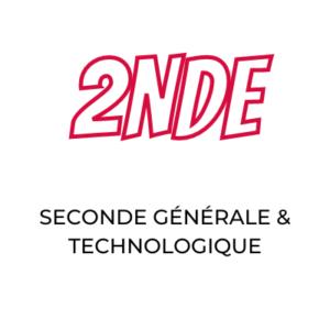 La seconde générale et technologique au lycée Notre Dame Saint Privat à Mende
